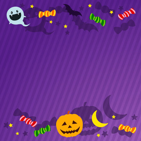 Halloween Background Material