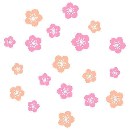Sakura,Cherry-blossom Ilustração