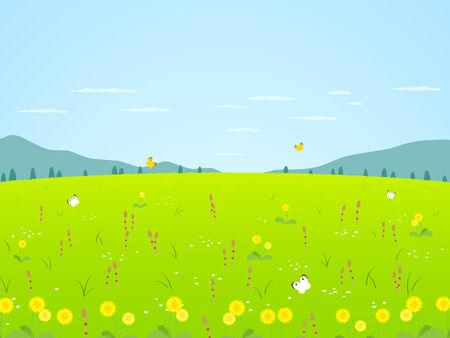 Landscape of spring Imagens - 31804650