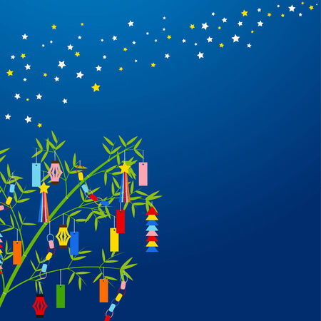 Background of Tanabata