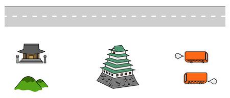 Transportation icon Ilustração