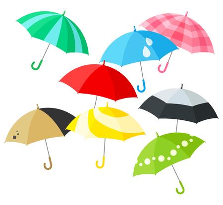 knack: Colorful umbrella