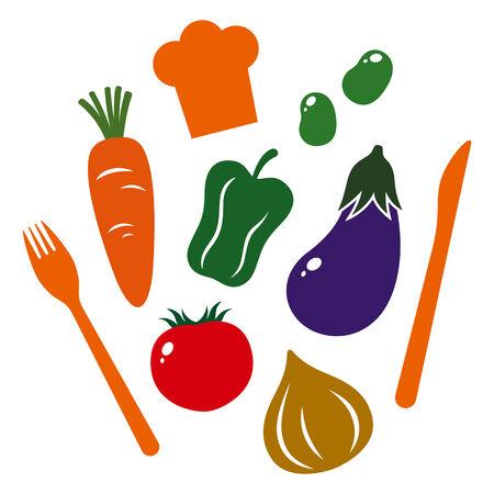 Vegetables icon Ilustração