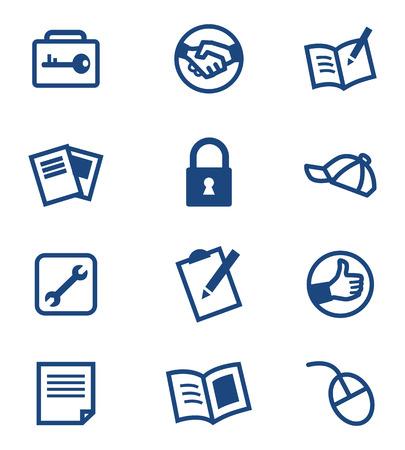 book mark: Icon set