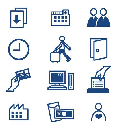 timecard: Icon set