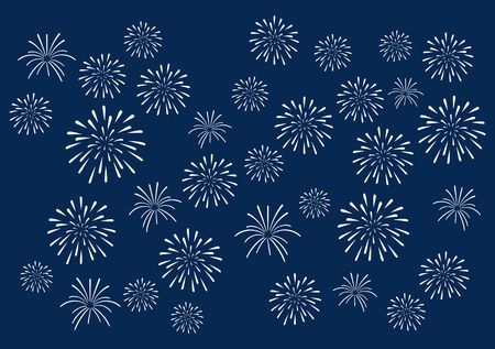 Summer Fireworks background