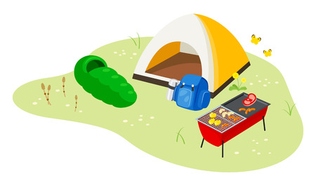 Camping Çizim