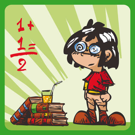 schoolkid: Little Genius