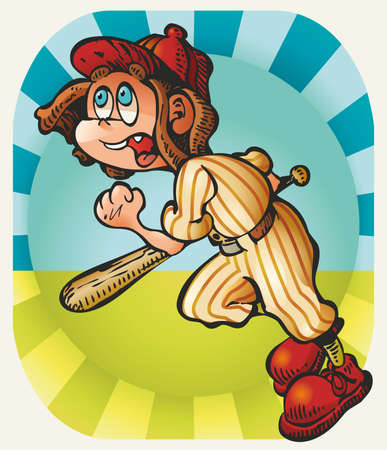 pre adolescent boys: Little Batter Baseball: a little boy batter