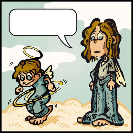 aureole: Naughty Angel Hey,I found my aureole...