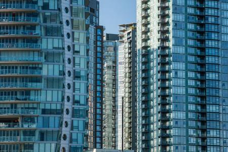 highrises: Apartment Highrises Stock Photo