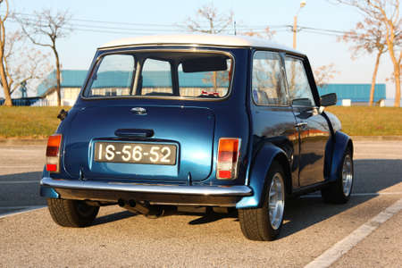 MARINHA GRANDE, PORTUGAL - FEBRUARY 11: A Mini 1000 parked during