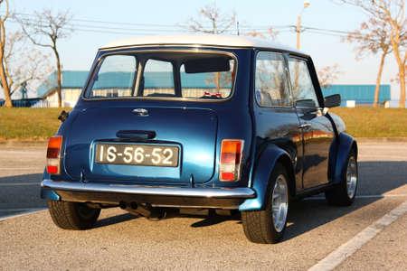 MARINHA GRANDE, PORTUGAL - FEBRUARY 11: A Mini 1000 parked during