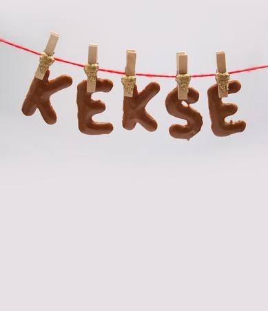 buchstabe: kekse