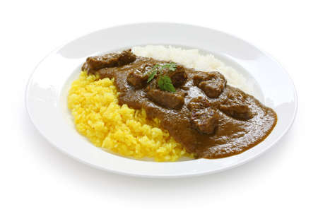beef curry: japanese curry rice Stock Photo