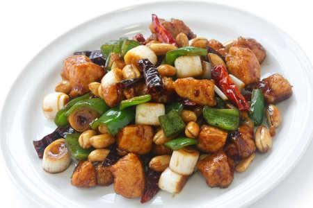쿵 파오 치킨, 중국 음식
