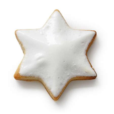 Zimtstern , homemade christmas cookies