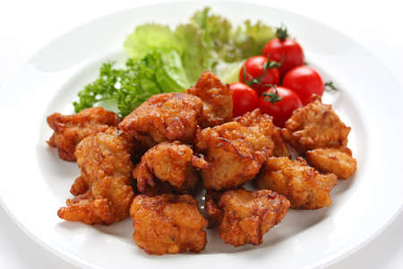 karaage, pollo frito japon�s