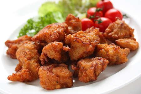 日本のフライド チキンの唐揚げ