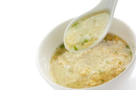 hot soup: egg drop soup , egg flower soup , chinese food
