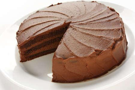 to cake layer: torta al cioccolato