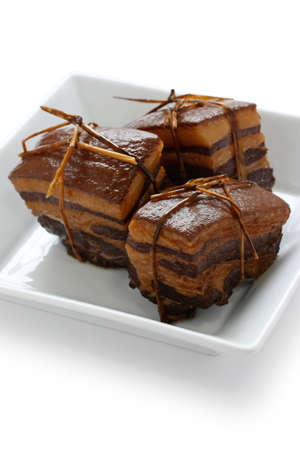 dongpo: chinese braised pork belly, dongpo pork