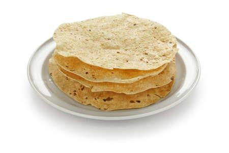 masala: papad , indian traditional food