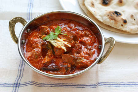mutton rogan josh, mutton curry, indian cuisine Stock Photo - 11059968