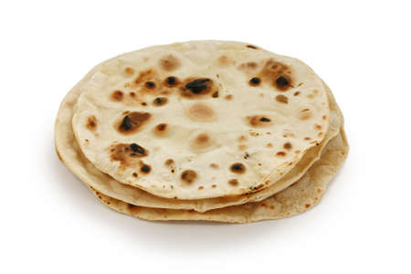 pakistani pakistan: chapati , indian unleavened flatbread Stock Photo