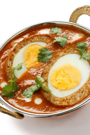 mutton: nargisi kofta curry, indian cuisine Stock Photo