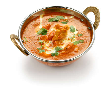 india food: butter chicken , indian cuisine