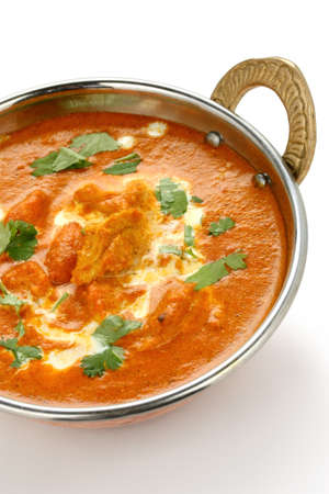 chicken curry: Butter Huhn, Indian Cuisine
