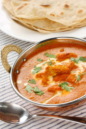 masala: butter chicken , indian cuisine