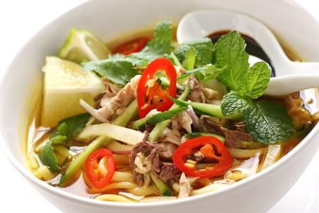 マレーシア食品ペナン アッサム ラクサ 写真素材