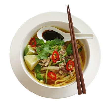 malay food: penang assam laksa, malaysian food