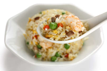 fried foods: fried rice, chinese cuisine, yangzhou style