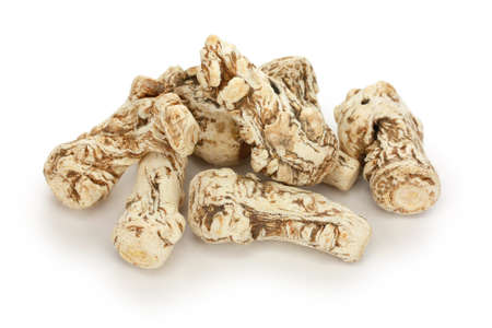 dang gui, angelica sinensis, traditional chinese herbal medicine Stock Photo - 11779069