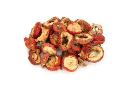 elixir: las frutas secas de espino chino, medicina herbolaria tradicional china