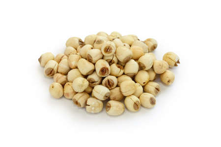 lotus seeds: lotus seeds, traditional chinese herbal medicine