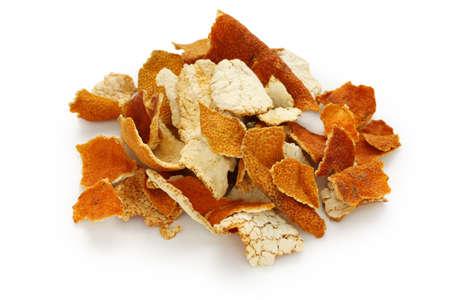 chenpi,dried tangerine peel,traditional chinese herbal medicine Stock Photo - 11921886