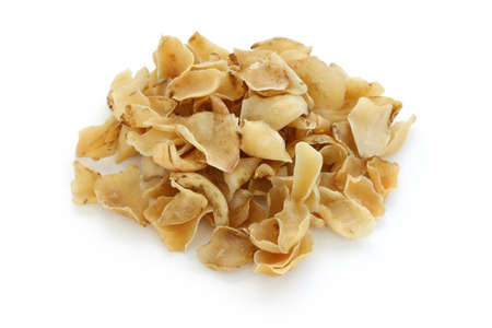 elixir: bulbos secos lirio, medicina herbolaria tradicional china Foto de archivo
