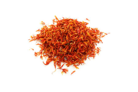 safflower: safflower, traditional chinese herbal medicine Stock Photo