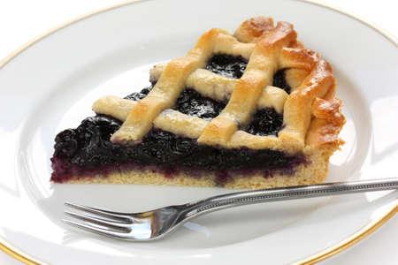 crostata, italian homemade tart photo