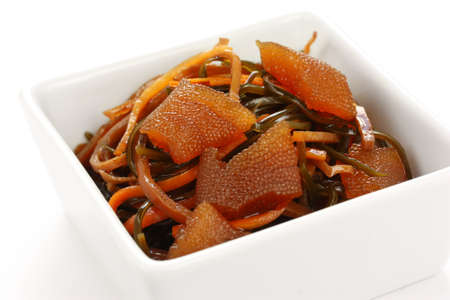 matsumaezuke, a pickled dish,  japanese food photo