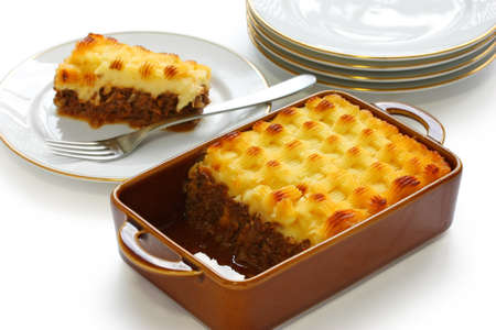 cottage pie, english cuisine photo