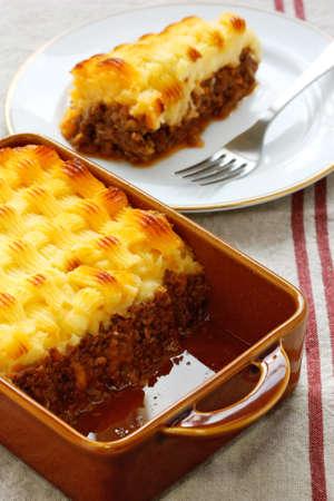carne picada: Cottage Pie, cocina Inglés