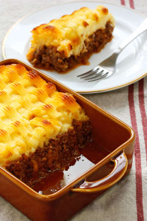 minced pie: cottage pie, english cuisine