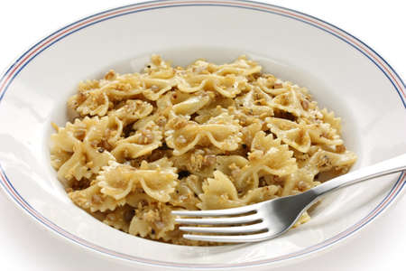 kasha varnishkes, buckwheat and bow-tie pasta, a traditional jewish dish  Stock Photo - 12374426