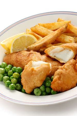 british food: fish and chips, british food