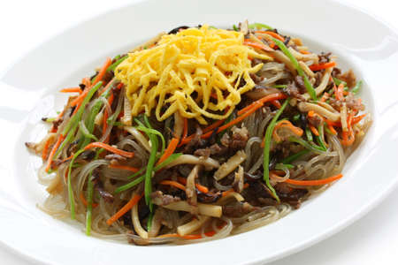 japchae, korean cuisine photo